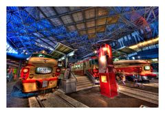 In the Railway Museum -2