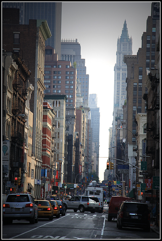 in the streets of manhattan
