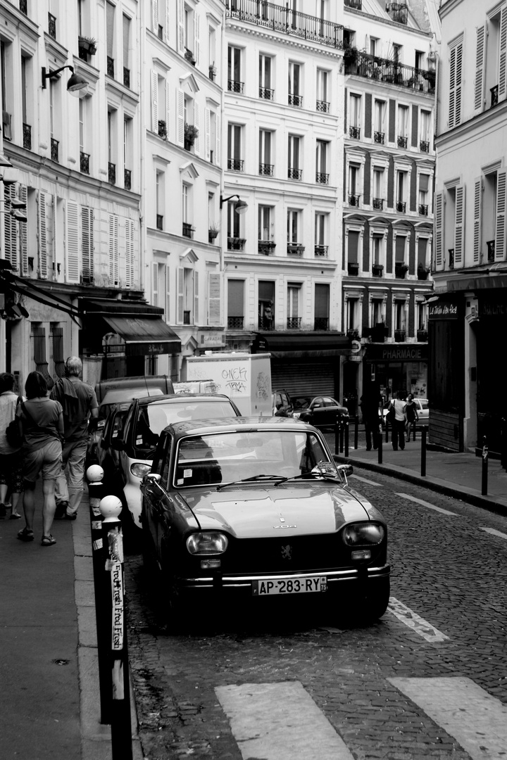 In the streets of Paris