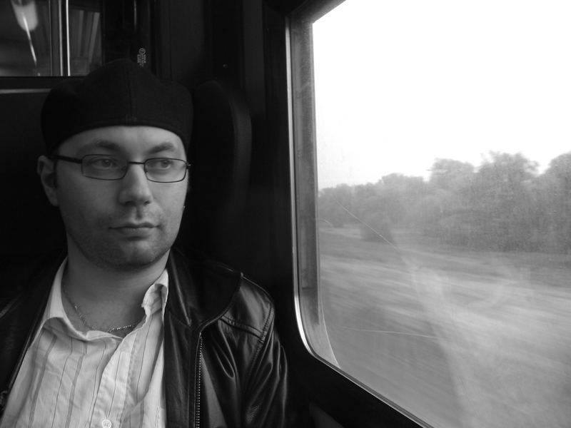 in the train - thinking about ...