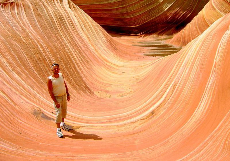 In the Wave, Utah