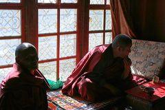 In Tibet…….