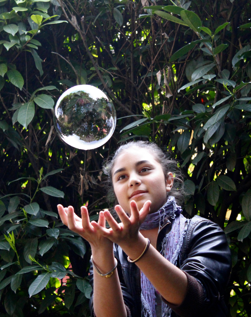 In una bolla