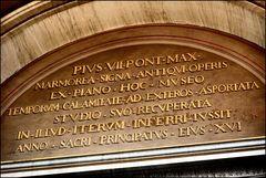 In Vaticano museum