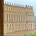 In Versailles - Blick aus dem Fenster 2