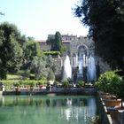 in Villa D'Este garden