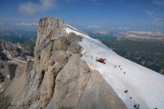In volo sulle Dolomiti