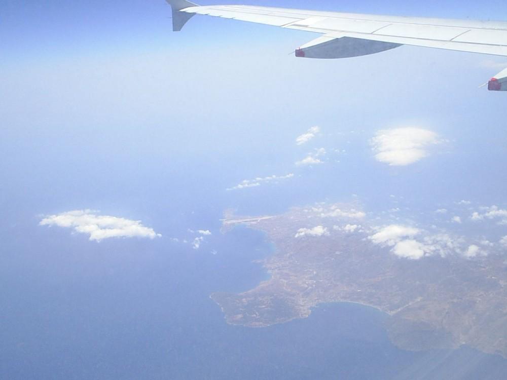 ...in volo verso l'Oriente...