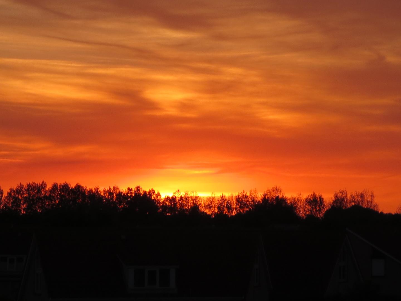 In Zeeland brennt der Himmel