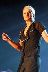 Ina Müller - in Blau