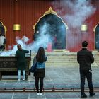 Incense altar in Yonghe Temple