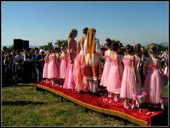 Incoronazione dela regina delle rose 2015