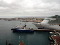 Independence of the Seas im Hafen von Gran Canaria (II)