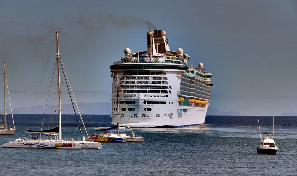 Independence of the Seas in Funchal