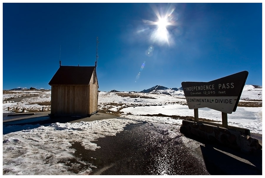 Independence Pass, Colorado, oder..