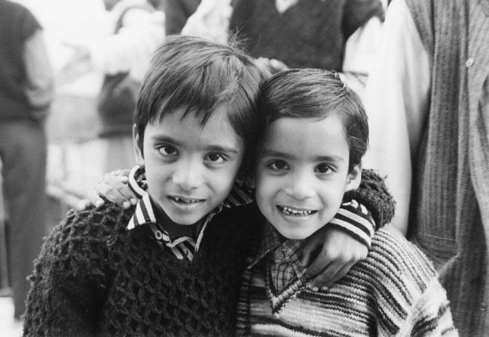 Inder-Kinder in Bundi