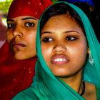 Indian girls in color splendor...