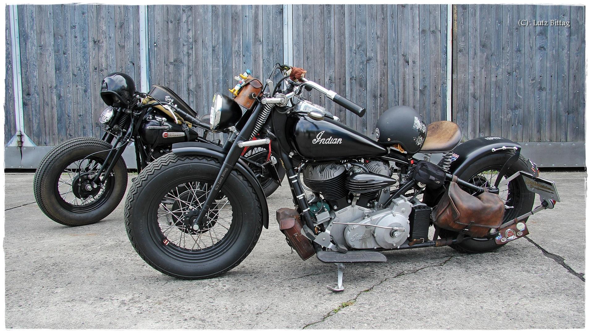 Indian & Harley