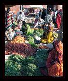 Indian market in Jaipur