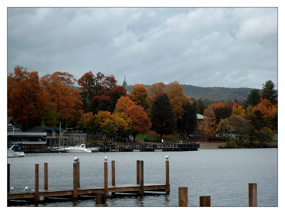 Indian Summer in Lake George (NY)