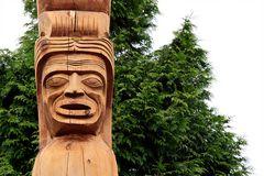 * Indian Totem Pole I *