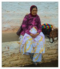 Indian Woman at the Dochula Pass