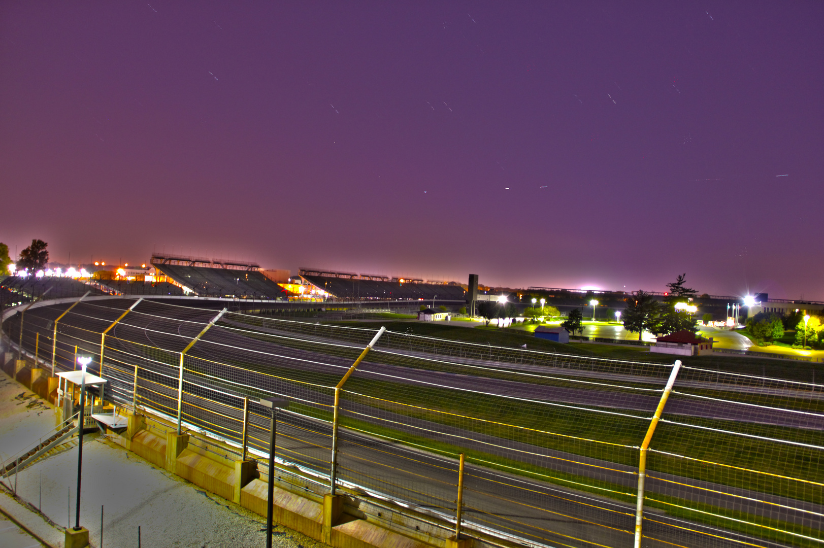 Indianapolis - Night HDR
