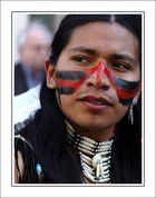 Indianer auf der Zeil