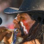 """Indianer beim """"Aufsteirern"""" in Graz"""
