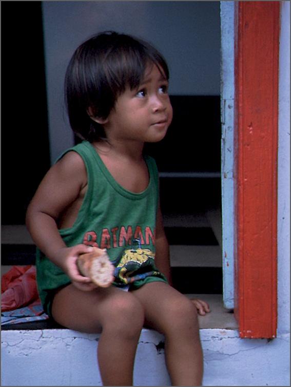 Indianermädchen in Venezuela