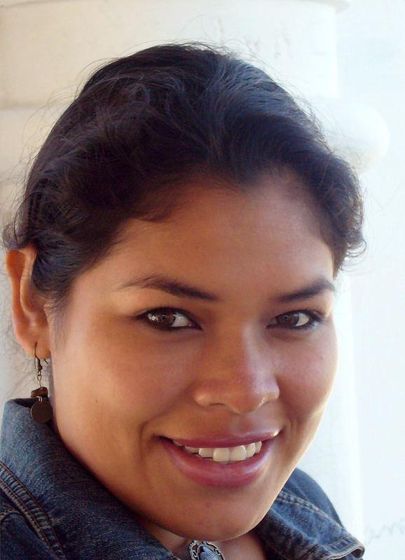 Indianische Schönheit