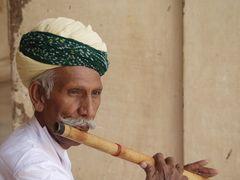 Indien: Flötenspieler