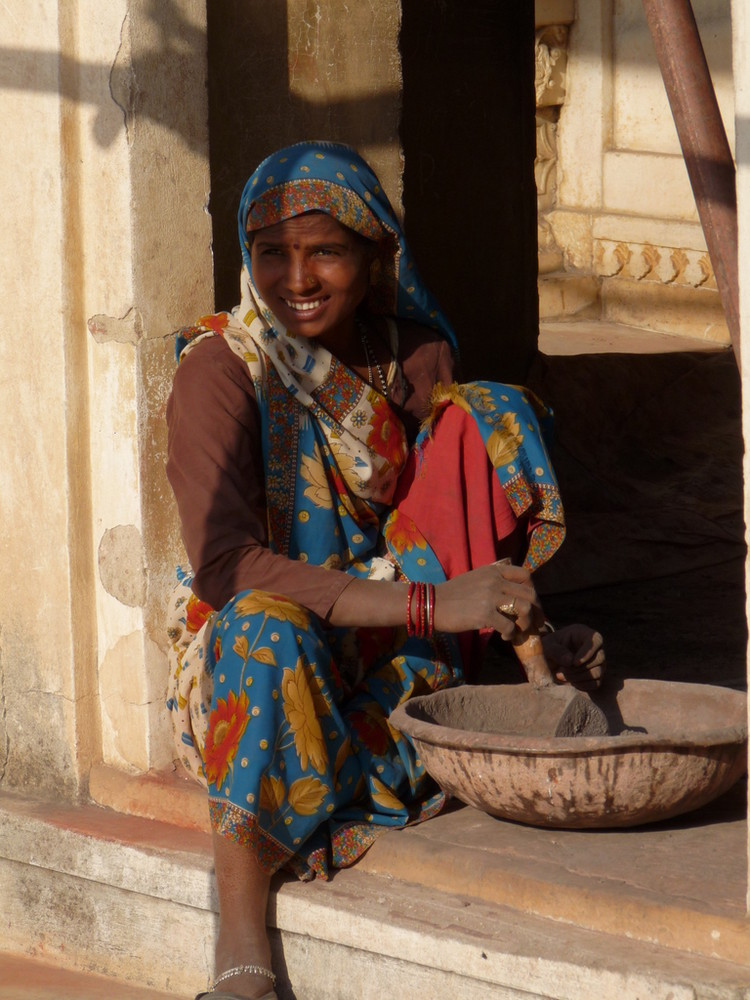 Indische Bauarbeiterin Foto Bild Asia India South Asia Bilder