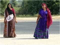 Indische Landfrauen