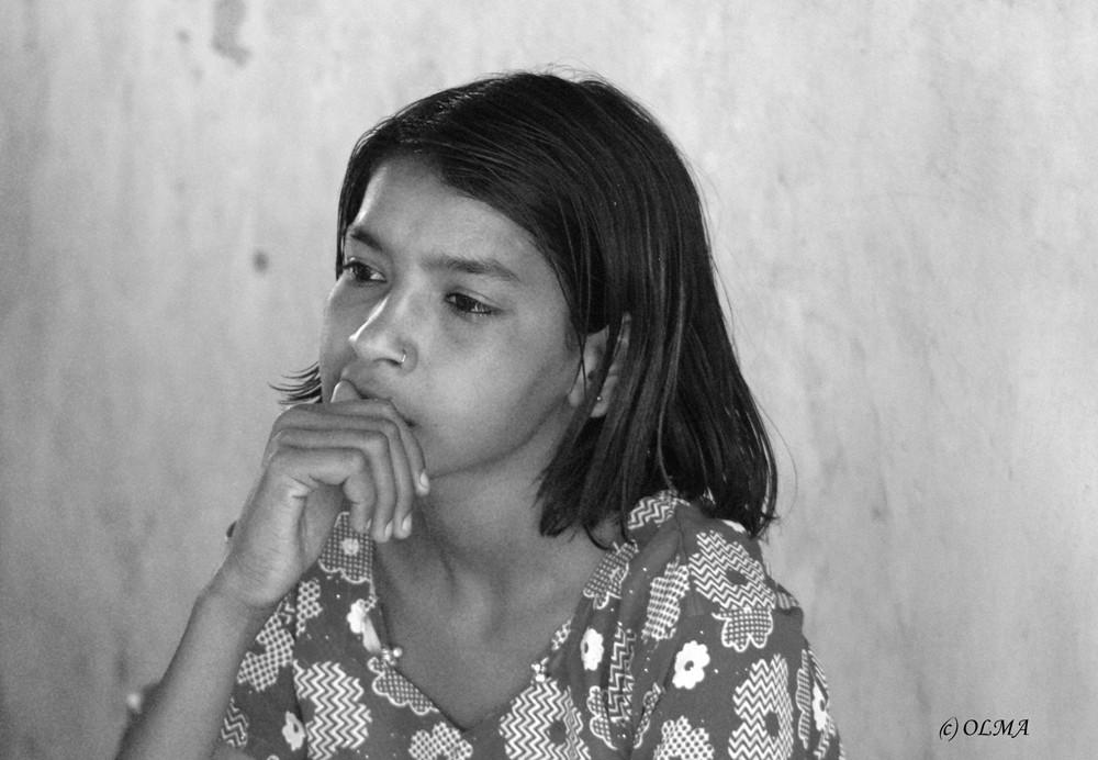 Indisches Mädchen 02