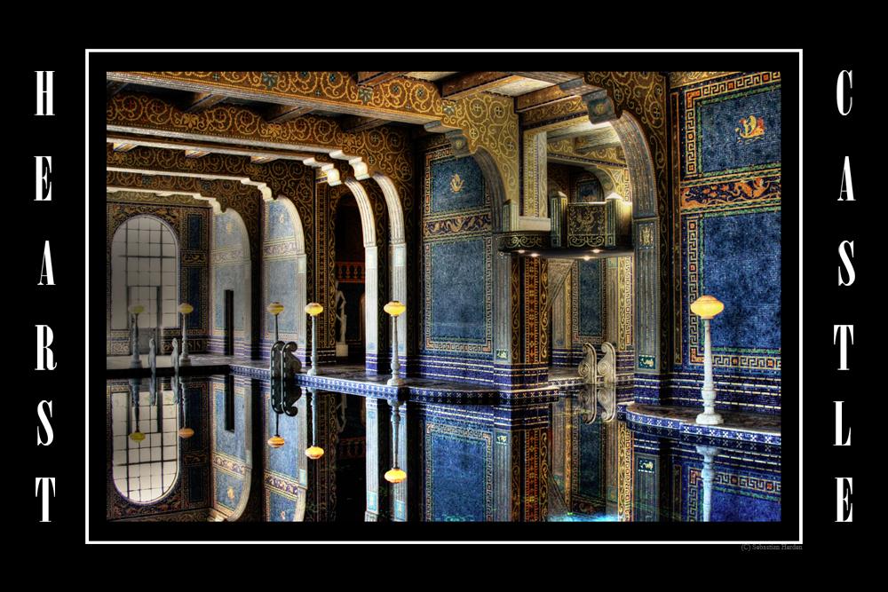 Indoor Pool Hearst Castle