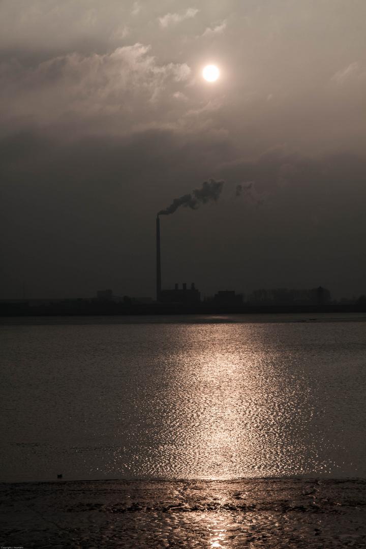 Industrie bei Bremerhaven
