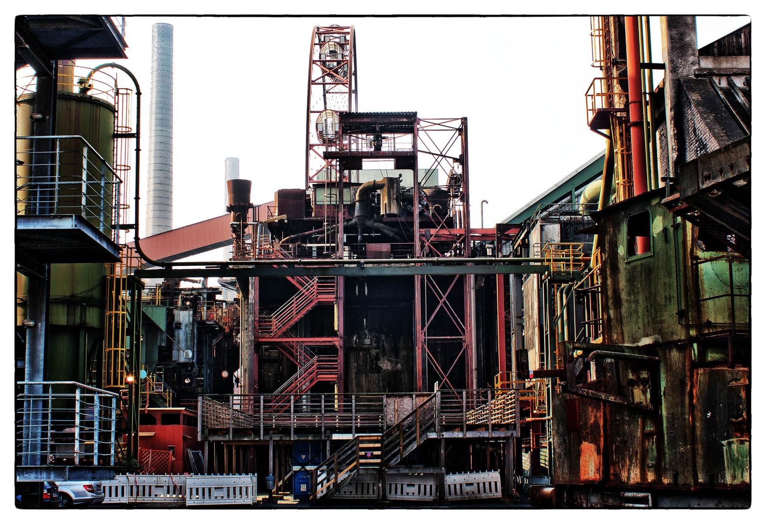 Industrie-Farbe