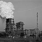 Industrieabgase! - Nein, nur Löschdampf einer Kokerei :-))