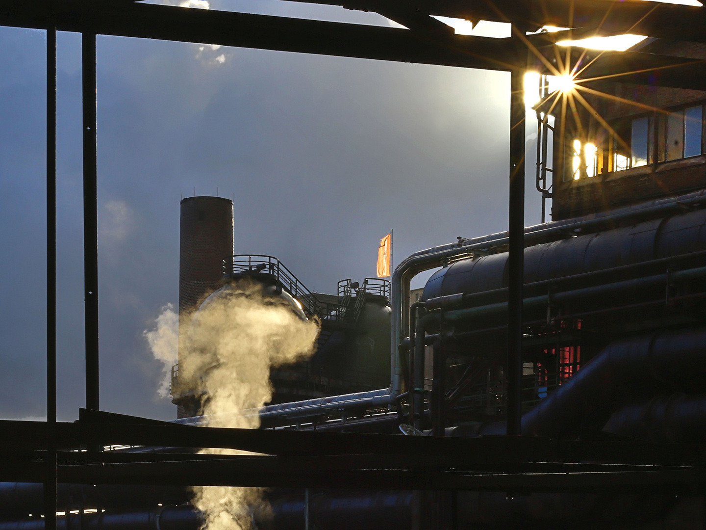 Industrieanlagen von gestern - heute