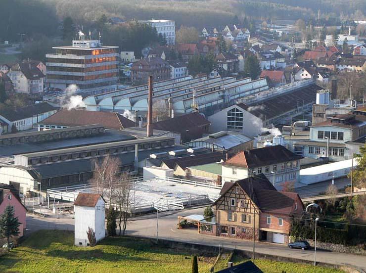 industriegebiet von maulbronn