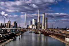 Industriehafen Mannheim