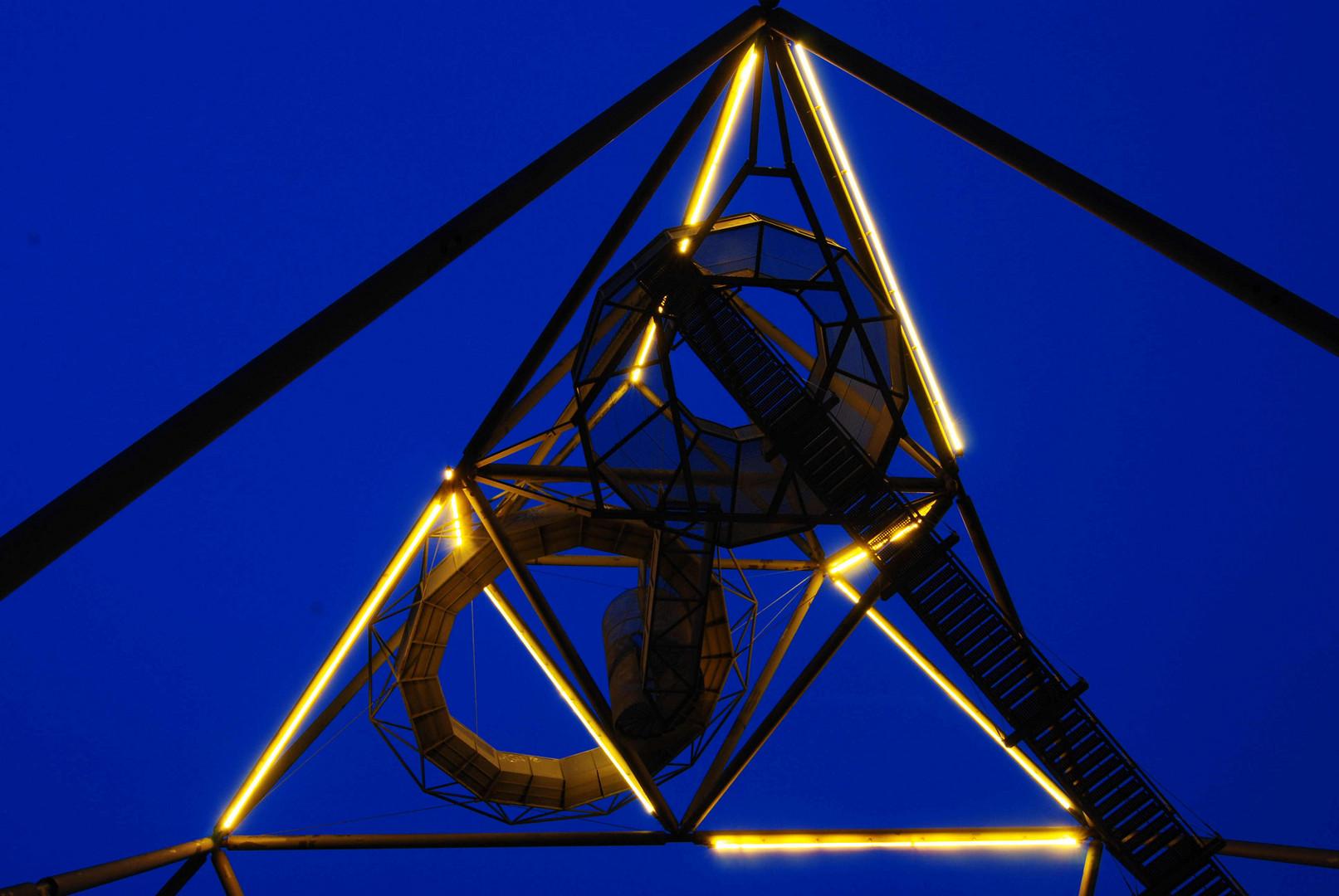Industriekultur zur blauen Stunde...