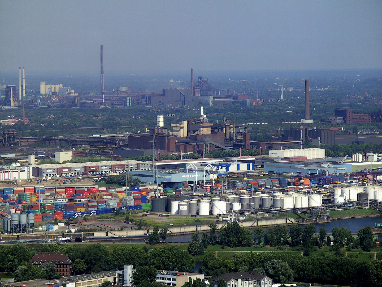 Industrielandschaft.