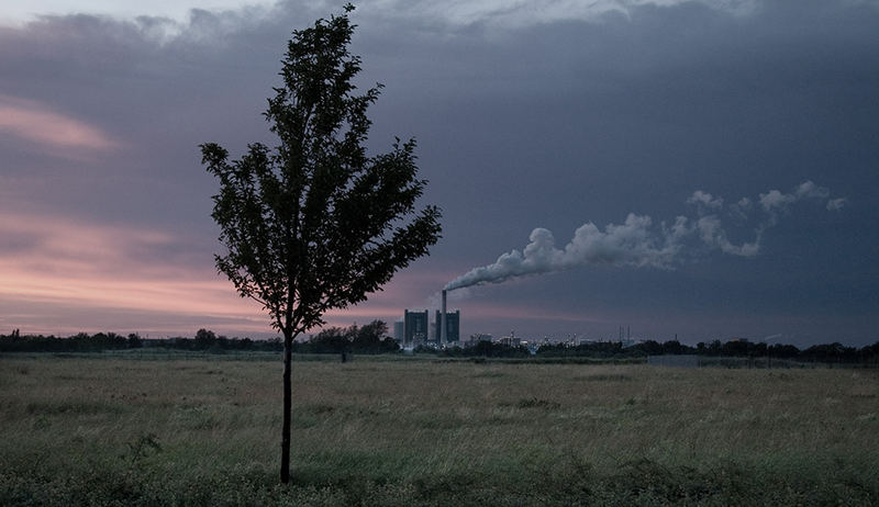 Industrie/Landschaft