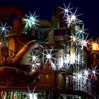 Industrielichter-2, Raffinerie des nachts
