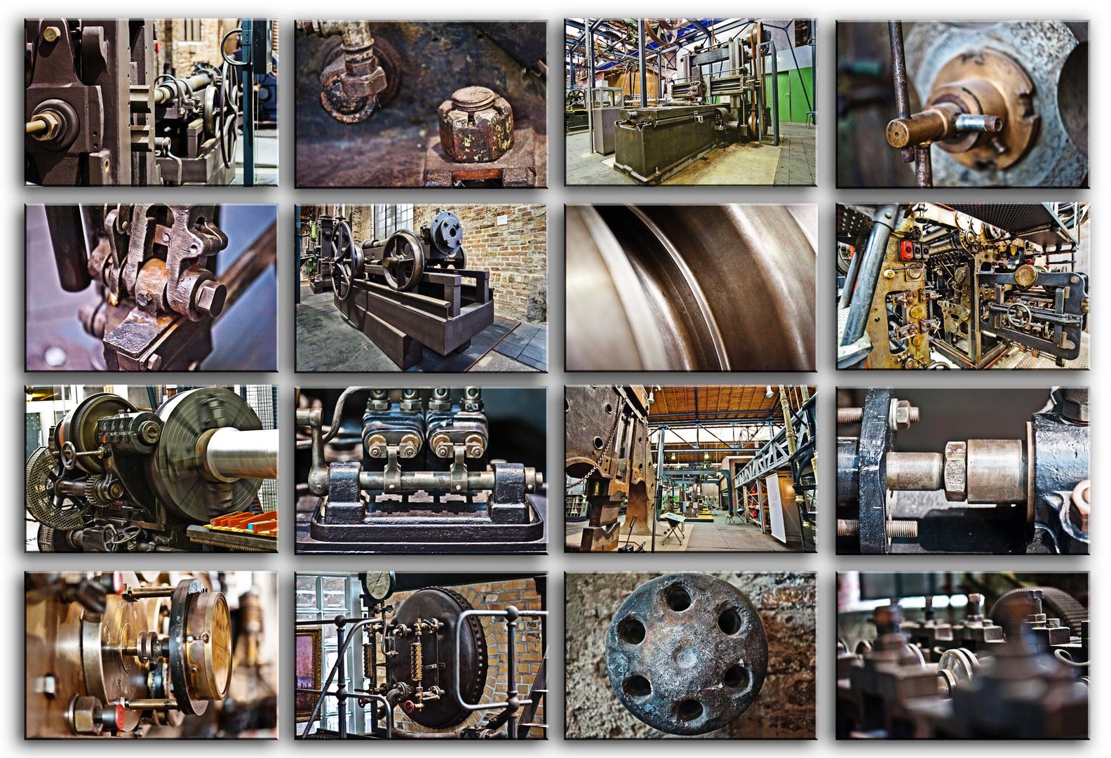 Industriemuseum Oberhausen - Technikdetails