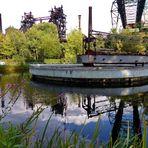 Industriepark Nord Duisburg - gespiegelte Industrieobjekte