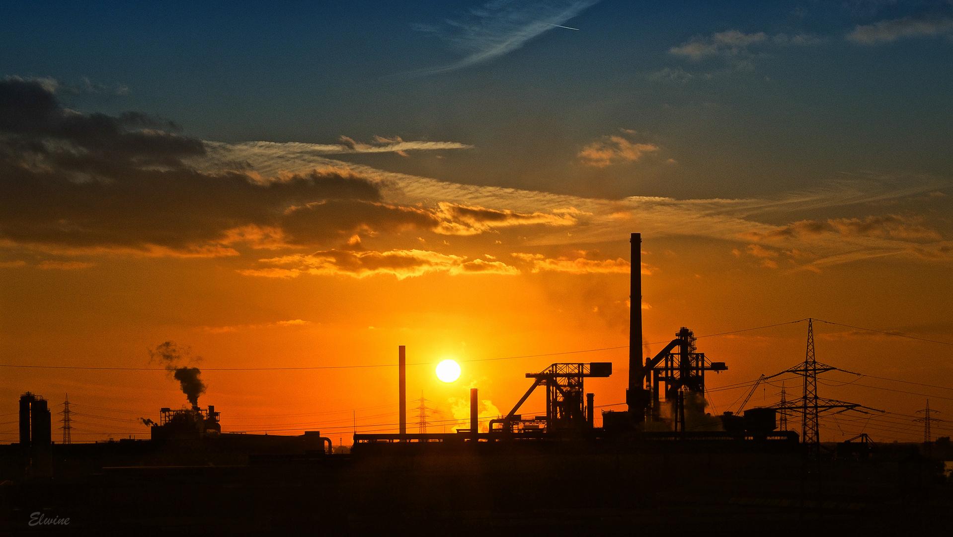 Industrieromantik im Ruhrgebiet oder