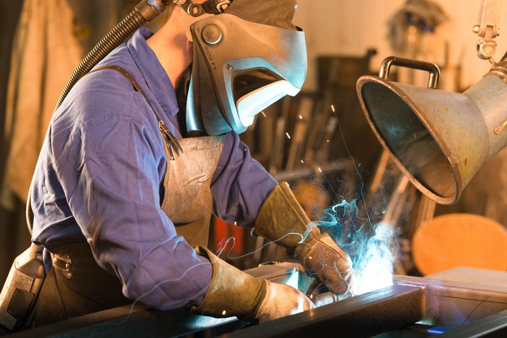 Industrieschweißen unter harten Bedingungen #2